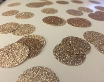 Champagne Gold Glitter Party Confetti - Wedding - Shower - Bachelorette- Party
