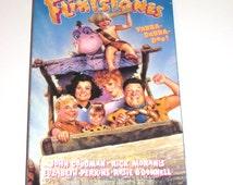 The Flintstones Original VHS Vintage Movie Video Tape Fred Flintstone Barney Rubble