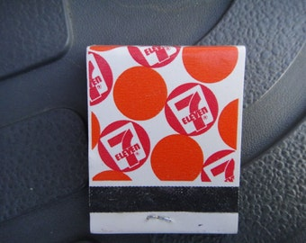 7 Eleven matches vintage 1970 matches store  collectible