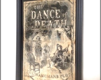 Penny Dreadful - Dance of Death Reproduction Cover in frame.