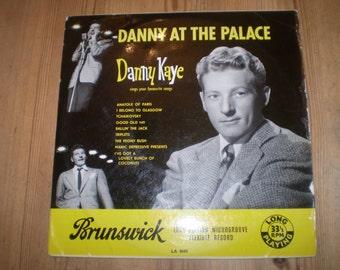 Danny Kaye at the Palace 10 inch Vinyl LP,Original 1953 South African issue,Brunswick LA 8660