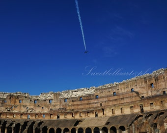 Wall Art, Photography Print, The Colosseum Photograph, Italy, Rome