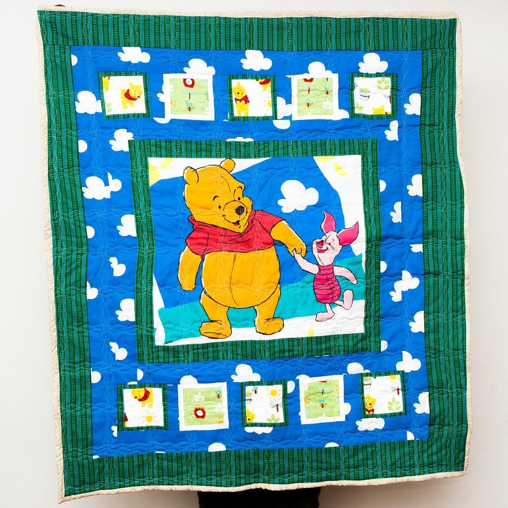 Winnie the pooh toddler bedding -  Zoom