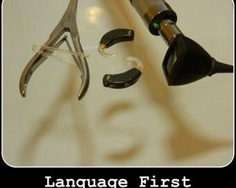 Language First Print