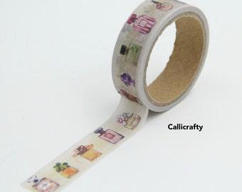 Perfume Bottle Vintage Japanese Washi Tape Masking Tape