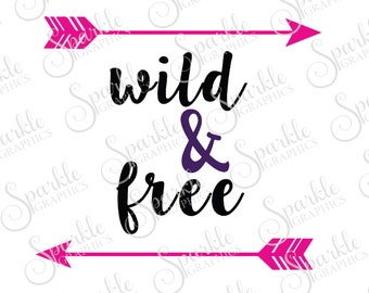 Wild & Free Wild Aztec Tribal ArrowsYoung Wild And Free  Clipart Svg Dxf Eps Png Silhouette Cricut Cut File Commercial Use