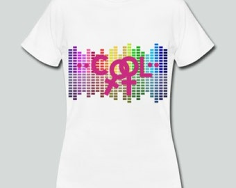 Cool 2, T-Shirt with statement, lesbian love