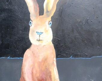 Rabbit blue eye