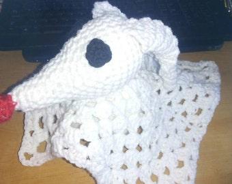 nightmare before Christmas zero dog, Zero dog crochet lovey, jack skellington, zero phantom, zero ghost crochet, zero the dog plush