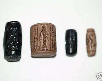 Ancient Cylinder Seal Set #3 Replicas