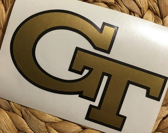 Georgia Tech Vinyl Decal