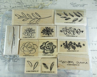 Flowers for a Friend Stampin Up Retired Set