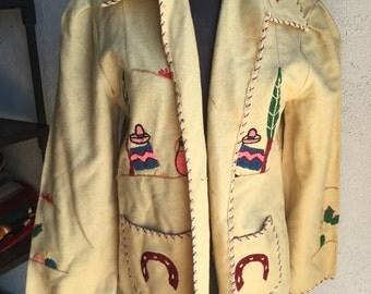 Vintage Embroidered Jacket