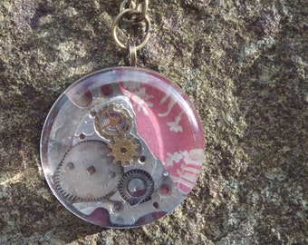 Pretty Steampunk Inspired Necklace