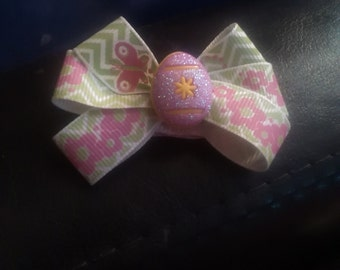 Easter Egg Hair Bow