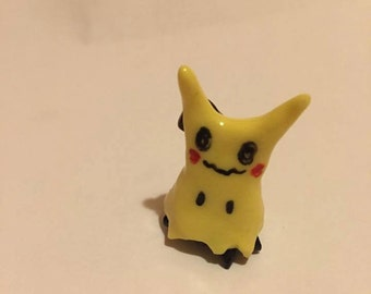 Mimikyu Pokemon Clay Figurine