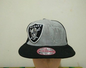 Rare Vintage RAIDERS Cap Hat Free size fit all