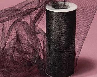 Black - shimmery tulle