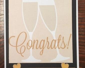 Congrats! Wedding/ Engagement / Graduation/ Celebration Card