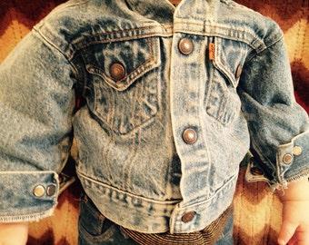 Vintage Toddler Levi's Jean Jacket 2T
