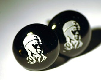 Glass Monkey Magic Cufflinks