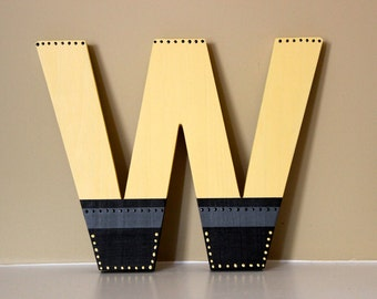 Custom Wooden Letters, Letters for Wall, Nursery, Made to Order, Hand painted, Personalized, Match Your Theme, Name, Babys Room, Shower Gift