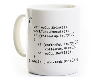 C++ Program Coffee Mug - Computer Science Programmer Gift - Java Object Oriented Programming