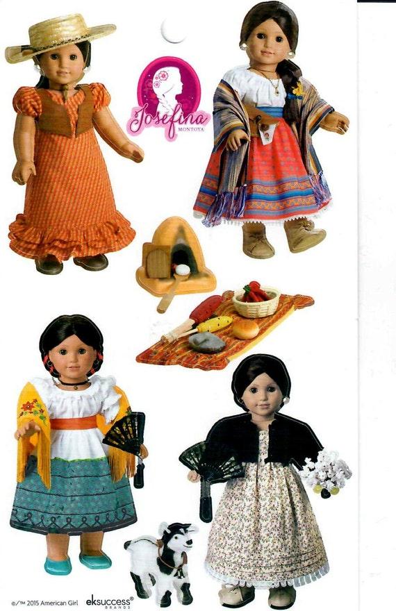 american girl stickers josefina beforever doll sticker sheet. Black Bedroom Furniture Sets. Home Design Ideas