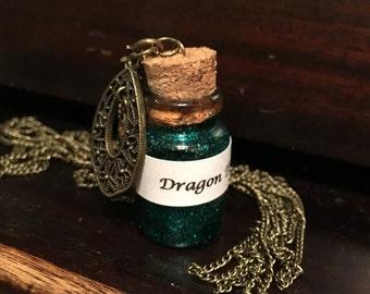 Harry Potter Potion Necklace (Dragon Tonic)