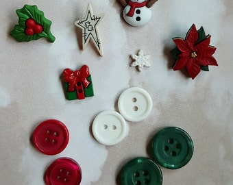 Christmas button lot hairbow centers hair bow centers hairbows