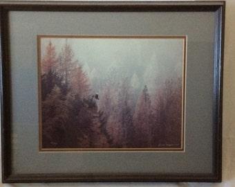 "Thomas Magnelsen "" Misty Morning Eagle"" Limited Edition"