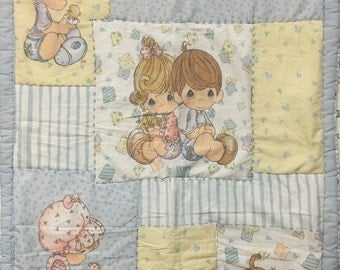 One (1) Precious Moments Baby Blanket
