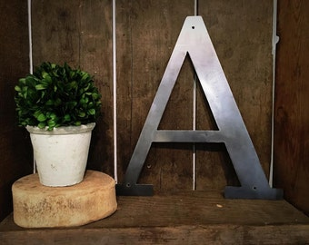 "Metal Letter - ""A"""