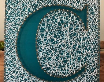string art letter string art monogram custom monogram gallery wall art letter string art letter wall art nursery letters