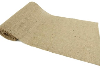 Burlap Table Runner 12 inches Wide 30 Feet Long Premium Quality 10oz Burlap