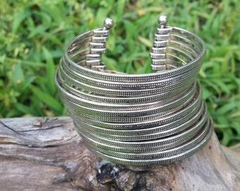 Silver Bangle Cuff