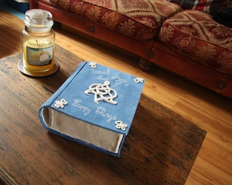 Personalised ceramic book box special birthday anniversary gift