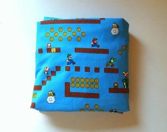 Nintendo Mario Scene Changing Pad Sheet/Crib Sheet