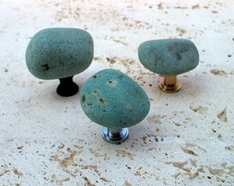 Creekside Collection - Natural Stone Knob - Ocean