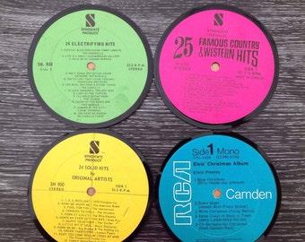 Vinyl - Vinyl coasters coasters