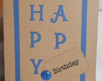 Handmade Happy Birthday Card (HBCHB03)