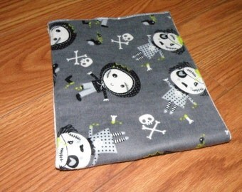 Zombie Baby Burp Cloth