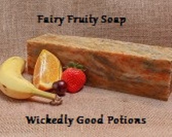 Fairy Fruit Soap