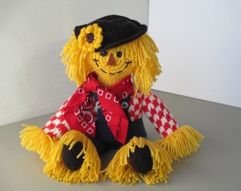 Crocheted Scarecrow