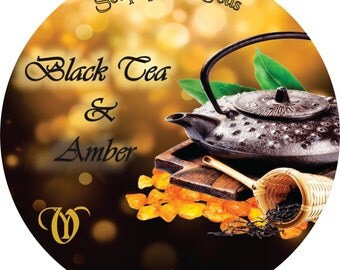 Shaving Soap Of the Gods Black Tea & Amber 4.oz