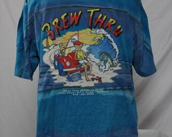 Vintage Brew Thru Tee, Outer Banks