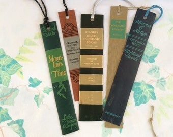 Set of 5 Bookmarks