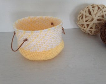 basket, vacuum-pocket, basket wool