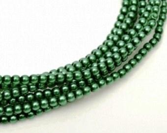 MP-Emerald Czech Mini Pearls 2mm #70455