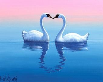"""Tim Wistrom Mini Print """"Love"""""""